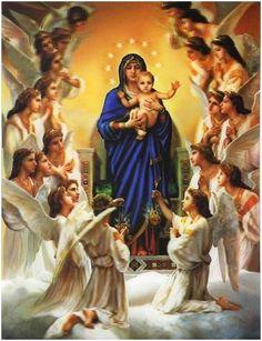 Virgen de los Ángeles Oración para problemas económicos y laborales