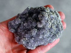 Amethyst Cluster With Pyrite From Bulgaria by RhodopeMinerals