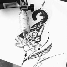 """760 curtidas, 16 comentários - ❤️BEM VINDOS AO NOSSO INSTA (@tatuador_luciano) no Instagram: """"Namaste """""""