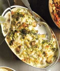 Broccoli and Gruyere Gratin