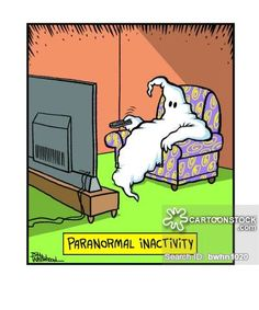 funny paranormal ghost cartoon - Google Search