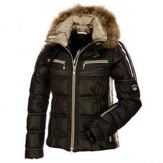Emmegi, Liz down filled ski jacket, women, black