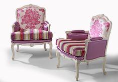 Butaca de Salon Clasica Rose   Material: Madera de Cerezo   Existe la posibilidad de realizar estos muebles en distintos acabados. Indique el acabado en el campo de observaciones.El precio no incluye la tela. Metraje necesario: 5 mts.... Eur:1466 / $1949.78