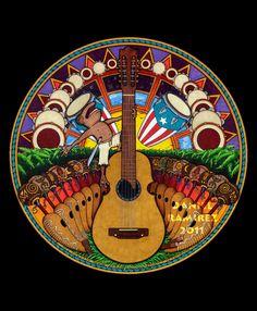 puerto rico arts and paintings | Coqui Jams: The Art of Daniel Ramirez