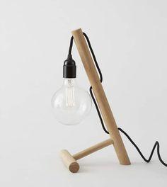 AMERICAN OAK LAMP