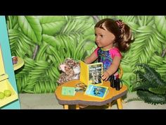 DIY American Girl National Geographic & Passport – American Girl Ideas