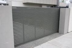 contemporary driveway gates - Google Search