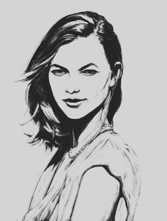 Karlie Kloss from photo reference