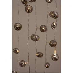 Graphite Maroq LED Fairy String Lights Battery Operated