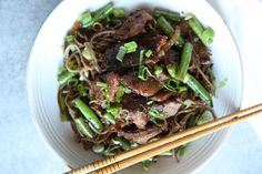 Beef Stir-Fry with Soba Noodles