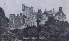 The castles, towers and fortified buildings of Cumbria: Greystoke Castle, old postcard April 1st, On October 3rd, July 6th, Picture Postcards, Old Postcards, Lancaster Castle, Galloway Scotland, Cumbria, World History