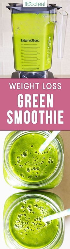 Best Green Smoothie Recipe with only 4 ingredients like water, frozen mango, spinach and kale. Your kids will drink it and it tastes good the next day. #ifoodreal #greensmoothie #healthyrecipes #kidfriendly #spinach #blender