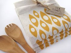 Hey, I found this really awesome Etsy listing at https://www.etsy.com/listing/126814979/modern-shapes-tea-towel-screen-printed