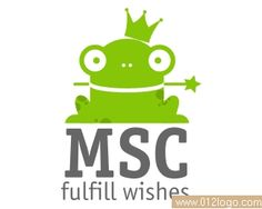 动物青蛙logo标志设计欣赏