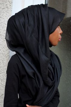 I love the poofiness of this! #hijab #layers