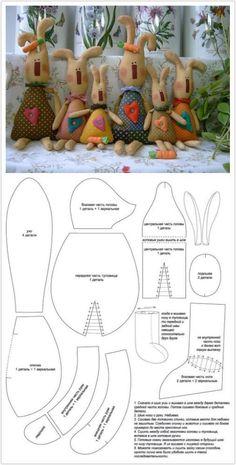 兔子们来自掷流年的图片分享-堆糖网;