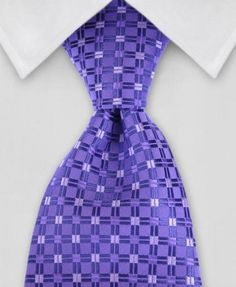"Product number: DB-0068Length: 57""Width: 4""Material: 100% MicrofiberCare: Dry Clean / Spot CleanLabel: Diamond Bailey This purple tie incorporates a simple desi"
