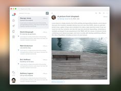 Something Reimagined - Email App by Eric Hoffman