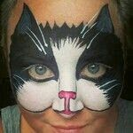 Painting Cat Face Kitty 18 New Ideas Animal Face Paintings, Animal Faces, Face Painting Designs, Paint Designs, The Face, Face And Body, Kitty Face Paint, Black Cat Face Paint, Cool Face Paint