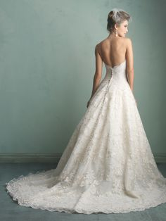 Allure Bridals Fall 2014 Collection   Style 9156