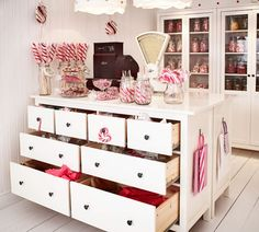 Candy Store with Ikea furniture
