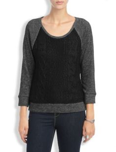 Gifts for Women | Easy Gifts Under $75 | Sweater Front Pullover | More Colors Available | Lucky Brand