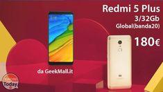 Codice Sconto - Xiaomi Redmi 5 Plus Global (banda 20) a 180€ (prevendita) #Xiaomi #Global #Offerta #Redmi5Plus #Xiaomi https://www.xiaomitoday.it/?p=34521