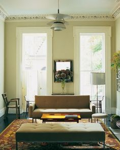 "See the ""Lively Contrasts"" in our Home Tour: Relaxed, Elegant Town House gallery"