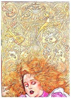 """Alice In Wonderland"" by Angel Dominguez (1996)"