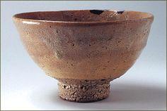 井戸茶碗 銘 細川 大名物  重要文化財 朝鮮時代 16世紀 畠山記念館蔵