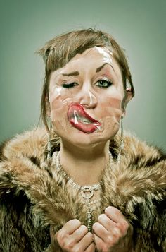 "The Humorous Scotch Tape Portrait Series by Wes Naman.This Would Be Hilarious as a ""Family"" Portrait! Tape Face, Wes Naman, Image Mode, Scotch Tape, Photocollage, No Photoshop, Art Plastique, Make Me Smile, Portrait Photography"