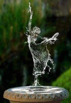 Water Dancer, Digital World photo via bella - figure, ballet, dance, fountain Water Art, Mystique, Dance Photography, Fantasy Photography, Amazing Photography, Ballerina Photography, Levitation Photography, Exposure Photography, Photoshop Photography