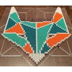 Fox perler beads by  kylerkaboom