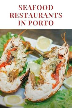 Discover the best seafood restaurants in Porto, Portugal, for an amazing journey into the Atlantic coast traditional Portuguese food. You should try not only the famous grilled sardines but also codfish and a variety of other local specialties. Visit Portugal, Portugal Travel, Grilled Sardines, Best Seafood Restaurant, European City Breaks, Portuguese Recipes, Portuguese Food, Cod Fish, Meals