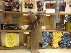 Display for FFA banquet