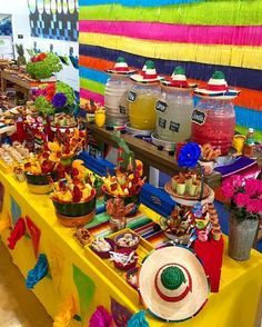 Quinceanera Party Planning – 5 Secrets For Having The Best Mexican Birthday Party Mexican Theme Baby Shower, Mexican Fiesta Birthday Party, Fiesta Theme Party, Taco Party, Mexico Party Theme, Fiesta Gender Reveal Party, Mexican Dinner Party, Party Themes, Mexican Party Decorations