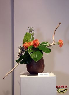 Autumn Songs - volume 6 Ikebana Exhibition 021 by fotoproze, via…
