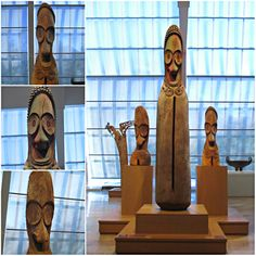 """Weekly Photo Challenge: TRIO - Ambrym Slit Gongs at The Met Museum""""There are three constants in life… change, choice and principles."""" Stephen Covey A trio of Ambrym Slit Gongs Guess what they are made for? #photography #Vanuata #Music"""