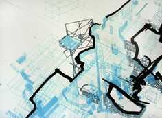 Matt Shlian - Madrid -- http://www.mattshlian.com/drawing%20and%20prints%20frame3.html