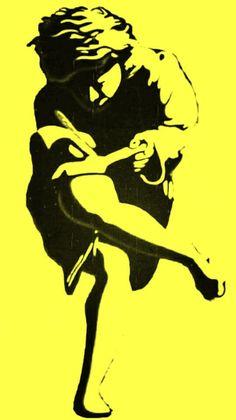 Guns N Roses, Stencil Art, Stencils, Cupid Drawing, Rock Band Posters, Music Drawings, Hypebeast Wallpaper, Horror Icons, Power Metal