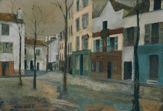 Maurice Utrillo 'La Place du Tertre', c.1910 © ADAGP, Paris and DACS, London 2014