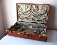 Samsonite Suitcase Overnight Luggage Style by ShantyIrishVintage