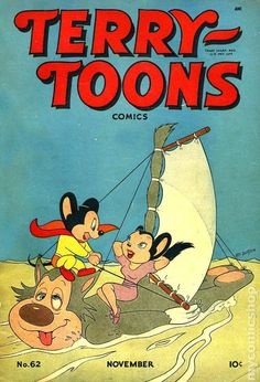 Terry-Toons Comics - Mighty Mouse