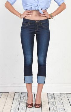 Henry & Belle Cropped Super Skinny - Available at Stella's Trunk at our Denim Bar, Milwaukee's largest denim bar! Clothing,   Fashions and Luxury Gifts etc. #Milwaukee's Third Ward   www.Facebook.com/StellasTrunkPage