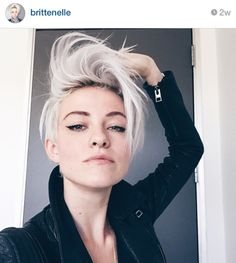 Presenting...Granny hair! This silvery-gray hue is the coolest color for hair right now.