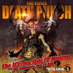 Released July 30, 2013 and debuting at No. 2 on the album sales charts, the fourth offering from Five Finger Death Punch, 'The Wrong Side of Heaven and the Righteous Side Of Hell Volume 1,' places the heavy/thrash metal core band atop the very pinnacle of the genre that includes such stalwarts as Metallica, Megadeth, Slayer, and Anthrax... and before them, Black Sabbath, Judas Priest, Pantera, and Iron Maiden.