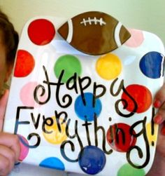 Coton Colors Happy Everything Mini Platter!