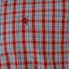 Carson Multi Size Check Short Sleeve Shirt by Carson