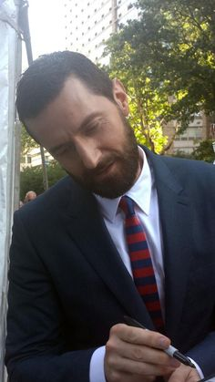 Richard Armitage http://ab2m.tumblr.com/post/93826645159/i-stil-cant-believe-that-i-saw-him-hes-more