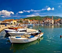 On the island of Hvar, Stari Grad  (literally, Old Town) is rich in history and architecture. Here you can walk around one of the oldest towns in Europe while breathing in the scent of lavender and enjoying the sunshine. barretttravel.globaltravel.com pamelabarrett22@gmail.com